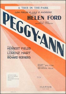 Peggy-Ann sheet music