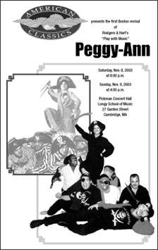 Peggy-Ann program cover