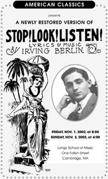 Stop! Look! Listen! program cover