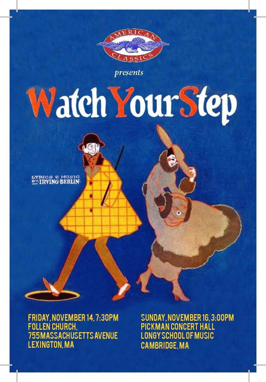 100th Anniversary Celebration of Irving Berlin's Watch Your Step